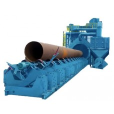 Pipe blasting machine